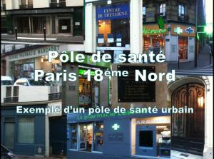 Pôle de Santé Paris  18 Nord - un pôle urbain