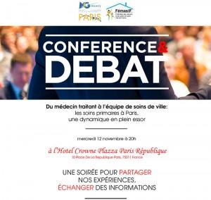 conference debat soins primaires