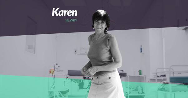 Retour d'expériences de Karen Newby qui manage une équipe d'infirmières pendant l'épidémie de coronavirus