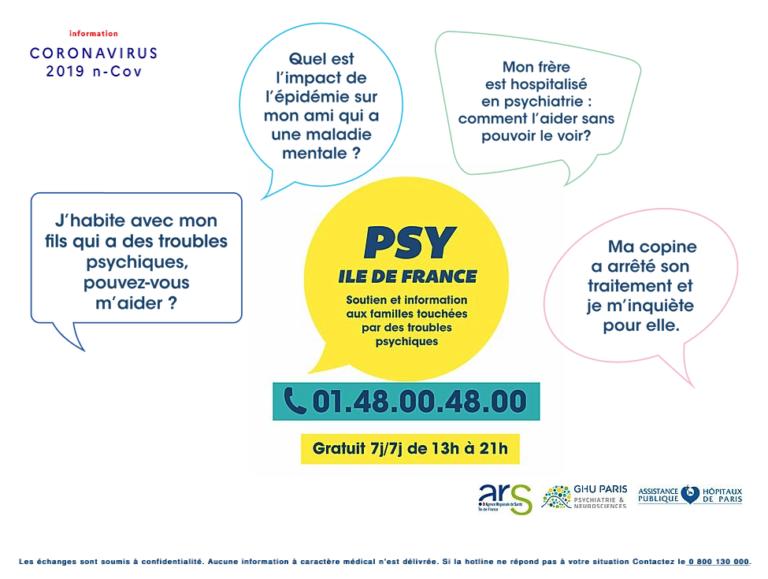 Psy Ile-de-France : soutien et information aux familles touchées par les troubles psychiques